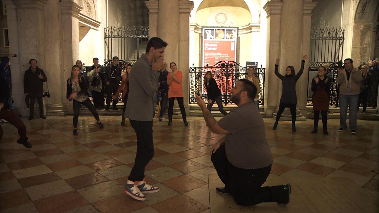 Gay wedding proposal